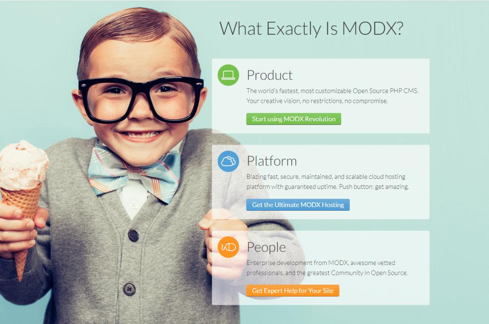 CMS MODx для блога