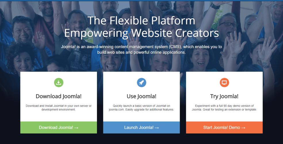 CMS Joomla для блога