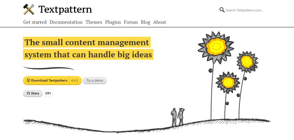 CMS TextPattern для блога